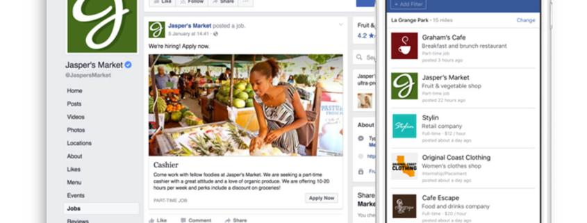 Social Media Recruiting Facebook testet Stellenanzeigenschaltung