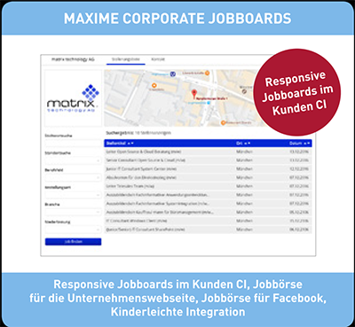 Maxime Media Jobboards