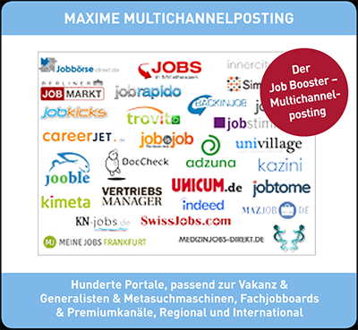 Anzeigenschaltung mit Maxime Multiposting